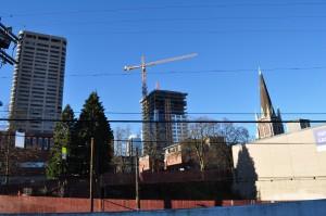 Crane on First Hill. Image Credit: Joe Mabel (CC by SA-4.0)